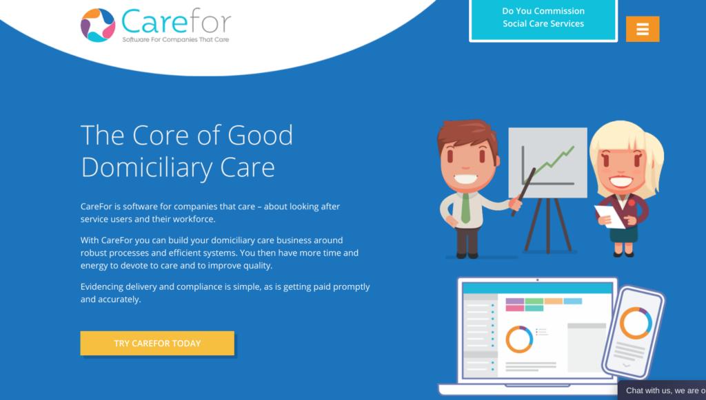 B2B Copywriting Care Sector